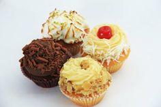 Mini cup cakes. Uberaba