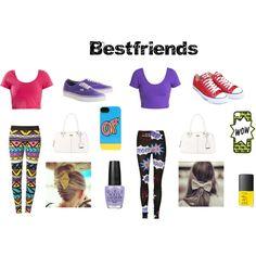"""""""Bestfriends 3"""" by jazzybadd-badd on Polyvore"""