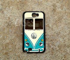 Samsung Galaxy Note 2 Case Volkswagen Minibus Teal door DzinerCase, $16.99