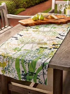 Dragonfly Table Runner  www.trudyricecollection.com