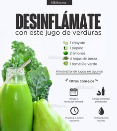 JUGO DE VERDURAS DESINFLÁMATE