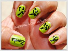 Zumba Nails 014 by neivys1, via Flickr