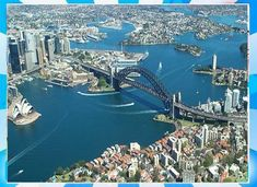 Watch Sydney Harbour Live TV Channel From Australia Cheapest Places To Live, Best Places To Live, Cool Places To Visit, Great Places, Harbor Bridge, Sydney Harbour Bridge, Cheap Air Tickets, Visit Sydney, Western University