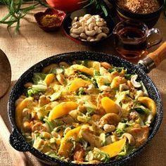 Scharfe Currypfanne Rezept | LECKER