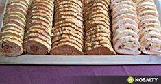 Hideg hústál Helga konyhájából recept képpel. Hozzávalók és az elkészítés részletes leírása. A hideg hústál helga konyhájából elkészítési ideje: 180 perc Krispie Treats, Rice Krispies, Tapas, Bacon, Food, Essen, Meals, Rice Krispie Treats, Yemek