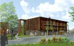 Bonjour voisins!  Des étudiants et professeurs de la communauté universitaire s'investissent dans une coop d'habitation nouveau genre