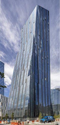 Three Waterline Square, New York, United States - The Skyscraper Center Future Buildings, Architectural Sculpture, Archi Design, High Rise Building, Commercial Architecture, Skyscraper, Architecture Design, Multi Story Building, The Incredibles
