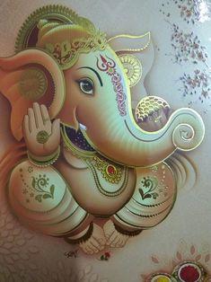 Ganesha Pictures, Ganesh Images, Ganesha Tattoo, Ganesha Art, Ganpati Bappa Wallpapers, Kerala Mural Painting, Lord Ganesha Paintings, Ganesh Wallpaper, Fabric Paint Designs