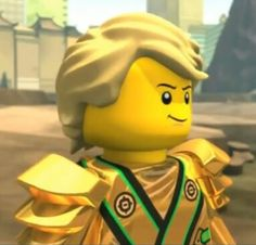 Lloyd looks so cute and awesome!!