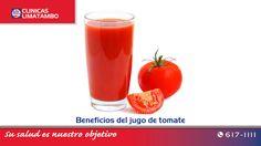 El jugo de tomate nos aporta grandes benfecios para el corazón, la piel...nuestra recomendación de hoy en nuestro blog. http://blog.clinicalimatambo.pe/2015/07/beneficios-del-jugo-de-tomate.html #ClinicaLimatambo