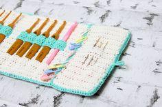 Crochet Pattern: Crochet hook case                                                                                                                                                                                 More