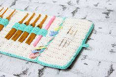 Crochet Pattern: Crochet hook case