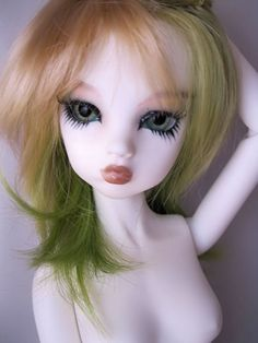 "16"" Mini MSD dollfie bjd OOAK White skin Fairy Nabiya doll $280"