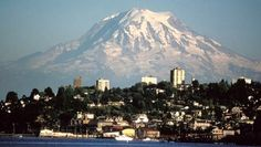 """The highest peak in the Cascade Range is also a volcano loaded with the most glacier ice of any mountain in the contiguous U.S., which will complicate things whenever it does erupt. The U.S. Geological Survey calls Mount Rainier """"potentially the most dangerous"""" mainland U.S. volcano because in addition to all that ice, it looms over the Seattle-Tacoma metro area and its 3.2 million inhabitants."""