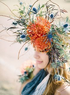 ❀ Flower Maiden Fantasy ❀ beautiful art fashion photography of women and flowers - Bellamint Photography