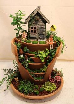 25 Best Broken Pot Fairy Garden Ideas You Will Absolutely Recreate On Your Own