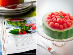 Look! A One-Ingredient Watermelon Cake