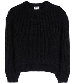 mytheresa.com - Hira laine et mohair mélangé chandail tricoté - Luxe Mode pour les vêtements femmes / Designer, chaussures, sacs