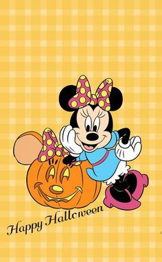 Minnie Mouse - Happy Halloween