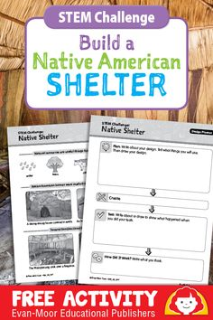 Native American STEM Challenge: Build a Native American Shelter
