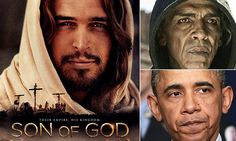 Devil cut from 'The Bible' spin off film 'Son of God' - because he looks like Obama. At theaters Feb 28, 2014