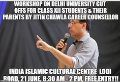 Career counselor Jitin Chawla and his team are global education consultants who help students pick the right career and counsels in a way that help youngsters find their preferred field of study and college in India or abroad. Top Careers, Best Careers, Career Counseling, Career Planning, Cultural Center, Online Courses, Islamic, Workshop, 21st