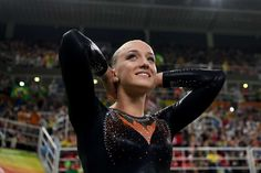 Netherlands gets first Olympic gymnastics medal:     Sanne Wevers of the Netherlands became the first Dutch woman to win an Olympic gymnastics medal when she successfully defeated gold medal-favorite Simone Biles of USA in the balance beam final. USA's Laurie Hernandez settled for silver and Biles for bronze.    -  2016 Rio Olympics: Highs and lows from Day 10