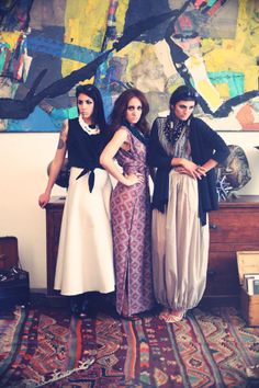 INSPIRATION DE L'AFRIQUE // photo shooting / spring summer collection 2014 / created by LIV/INTHEBOX / clothes by Chiara Marcoleoni