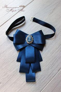 Ribbon Jewelry, Ribbon Art, Diy Ribbon, Ribbon Crafts, Fabric Jewelry, Diy Jewelry, Jewelery, Hair Ribbons, Hair Bows