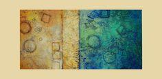 Abstract art acrylic painting fine art on por avaavadonstudio