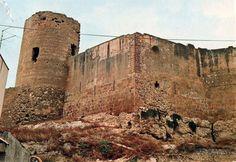 Sciacca (Agrigento) Il Castello della Luna Cartolina viaggiata, 1987