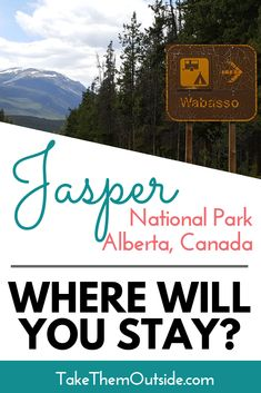 Looking to visit Jasper National Park? You'll need somewhere to sleep. Check out this guide to accommodation options - everything from camping to hotels. Alberta National Parks, Jasper National Park, Jasper Hikes, Jasper Canada, Camping In North Carolina, California Camping, Mountain Photography, Travel Tours, Travel Ideas