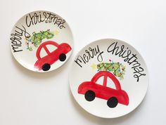 Griswold Family Christmas (tree on car) foot print keepsake plate. Preschool Christmas, Christmas Crafts For Kids, Christmas Projects, Family Christmas, Kids Christmas, Holiday Crafts, Xmas, Baby Crafts, Toddler Crafts
