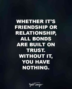 30 Quotes That Show Why Trust Is Everything In Relationships #Relationship