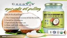 CocoVie Coconut Oil Pulling