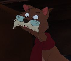 Rufus is Penny's elderly cat from The Rescuers. He first met Bernard and Miss Bianca and gave them the information of the whereabouts of Penny. Being an elderly cat, Rufus has very little interest in anything that other young cats do (like chasing mice). Despite this, he is shown to be very kind and warm as he was able to cheer Penny up in her time of sadness to never lose hope in getting adopted. In regards to mice, he has no interest in harming or chasing them, as shown by his…