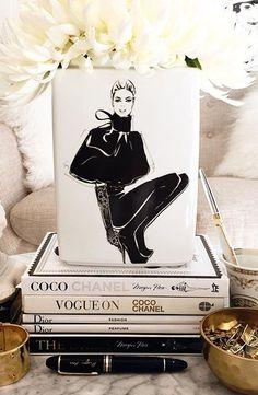 she shed interior craft Megan Hess, Balmain, Jimmy Choo, Givenchy, Kerrie Hess, Fendi, Dior, Tea Party Theme, Beauty Book