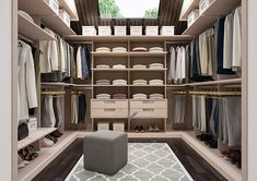 Walk In Closet Design, Wardrobe Design Bedroom, Bedroom Bed Design, Closet Designs, Closet Bedroom, Bedroom Storage, Closet Vanity, Closet Layout, California Closets