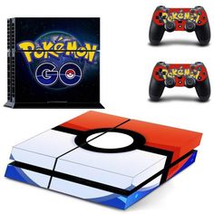 PS4 Console Skin - Pokemon Go Console Skin     All skins are made from...