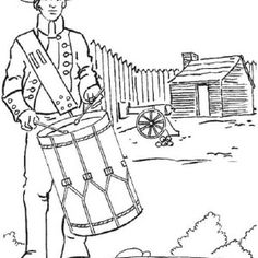 valley forge coloring pages - photo#25