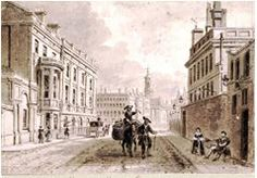 Hanover Square 1790 where George Rainy was baptised the same year