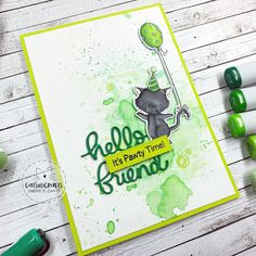 Cats nd Crafts Cat Birthday, Birthday Cards, Cats, Handmade, Bday Cards, Gatos, Hand Made, Birthday Greetings, Cat