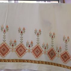 Photo from seckin_ceyiz Hardanger Embroidery, Cross Stitch Embroidery, Herd, Bargello, Needlework, Instagram Posts, Pattern, Handmade, Crafts