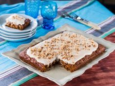 Slimmed Down Carrot Cake, by Trisha's Southern Kitchen