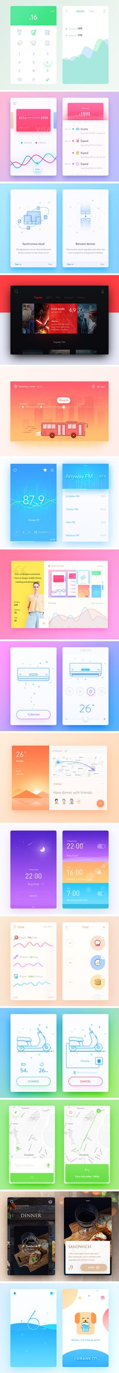 Inspirational UI Elements vol. 2