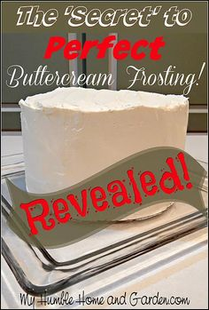 ingredients frosting revealed secret butter right cream tools magic best make here have the and The Magic Secret To The Best Butter Cream Frosting Revealed for you here You have all the ingredieYou can find Cake frosting recipe and more on our website Best Buttercream Frosting, Cake Frosting Recipe, Frosting Recipes, Cake Recipes, Dessert Recipes, Frosting Tips, Cupcake Frosting, Butter Cream Icing Recipe, Loaf Recipes