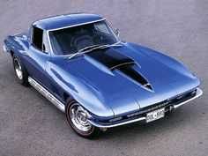 Chevrolet Corvette Sting Ray 427 (1967).