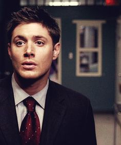 Jensen Ackles as Dean Winchester - when he was still a little bit innocent
