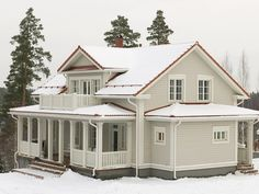 Exterior Paint Colors For House, House Colors, Farmhouse Addition, Terrace Design, Victorian Homes, Old Houses, My Dream Home, My House, House Plans