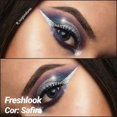 40bec5628 As lentes de contato coloridas Freshlook Colorblends, são indicadas para  uso estético proporcionando a mudança.